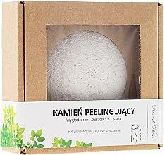 Profumi e cosmetici Pietra naturale per peeling corporale, bianca - Pierre de Plaisir Natural Scrubbing Stone Body