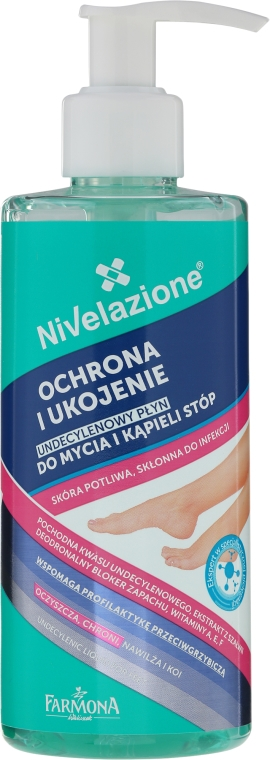 Liquido undecilenico per piedi - Farmona Nivelazione Undecylenic Foot Bath and Washing Liquid