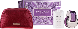 Profumi e cosmetici Bvlgari Omnia Crystalline - Set (edt/65 + b/lot/2x75ml + pouch)