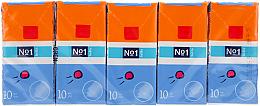 Profumi e cosmetici Set di fazzoletti cosmetici, 10x10 pezzi - Bella