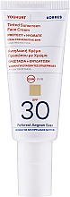 Profumi e cosmetici Crema solare tonificante per il viso - Korres Yoghurt Tinted Sunscreen Face Cream SPF30