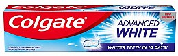 """Profumi e cosmetici Dentifricio """"Denti bianchi in 10 giorni!"""" - Colgate Advanced White"""