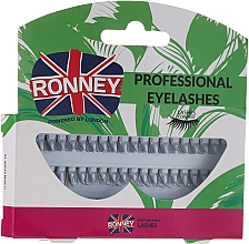 Profumi e cosmetici Set ciglia, 10,12,14 mm - Ronney Professional Eyelashes 00034