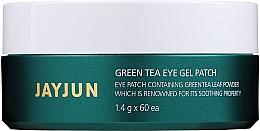 "Profumi e cosmetici Patch idrogel al tè verde ""Green"" - Jayjun Green Tea Eye Gel Patch"