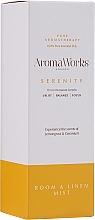 """Profumi e cosmetici Spray per ambienti """"Serenità"""" - AromaWorks Serenity Room Mist"""