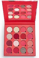 Profumi e cosmetici Palette ombretti, 16 colori - Makeup Obsession Kisses Eyeshadow Palette