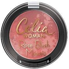 Profumi e cosmetici Blush viso - Celia Woman Rose Blush Mosaic