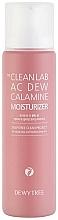 Profumi e cosmetici Crema idratante viso alla calamina - Dewytree The Clean Lab AC Dew Calamine Moisturizer