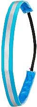Profumi e cosmetici Fascia per capelli, neon blu - Ivybands Neon Blue Reflective Hair Band