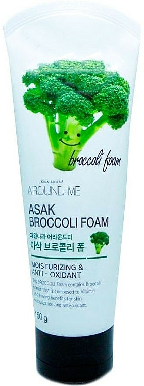 Schiuma detergente con estratto di broccoli - Welcos Around Me Broccoli Foam