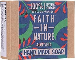 Profumi e cosmetici Sapone per mani all'Aloe Vera - Faith In Nature Aloe Vera Soap
