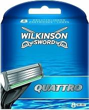 Profumi e cosmetici Lamette di ricambio, 8 pz. - Wilkinson Sword Quattro