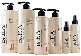 Profumi e cosmetici Set - Dr.EA Keratin Hair Care Set (hair/cr/1000ml+shm/1000ml+shm/500ml+mask/500ml+serum/130ml+milk/220ml)