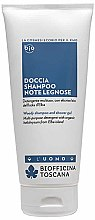 Profumi e cosmetici Gel shampoo per uomini - Biofficina Toscana Woody Shampoo and Shower Gel