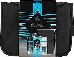 Profumi e cosmetici Set - Axe Ice Chill (deo/150ml + sh/gel/250ml + deo/150ml + bag)