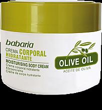 Profumi e cosmetici Crema corpo 100% olio d'oliva - Babaria Olive Oil Nourishing Body Cream