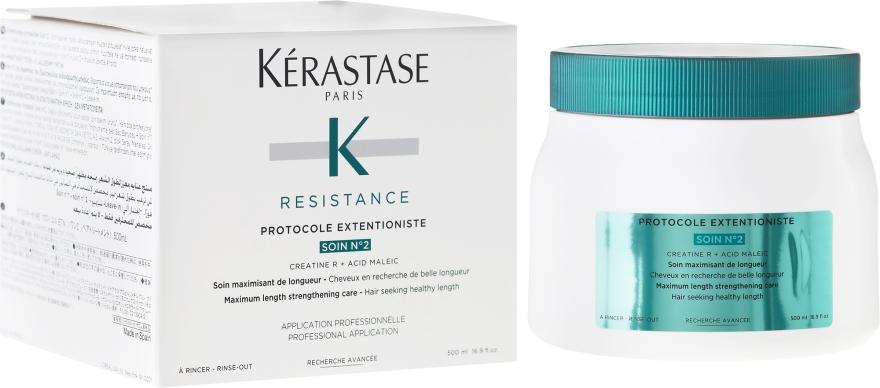 Cura per il ripristino dei capelli danneggiati e deboli - Kerastase Resistance Protocole Extentioniste Soin N?2