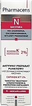 Profumi e cosmetici Gel per il rafforzamento dei vasi sanguigni - Pharmaceris N Capinon K 2% Cream