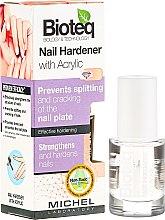 Profumi e cosmetici Trattamento rinforzante unghie - Bioteq Nail Hardener With Acrylic