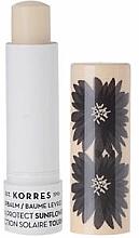 """Profumi e cosmetici Balsamo labbra """"Girasole"""" - Korres Lip Balm Sun Protect SPF20 Sunflower"""