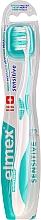 Profumi e cosmetici Spazzolino morbido, turchese - Elmex Sensitive Toothbrush Extra Soft