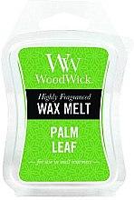 Profumi e cosmetici Cera profumata - WoodWick Wax Melt Palm Leaf
