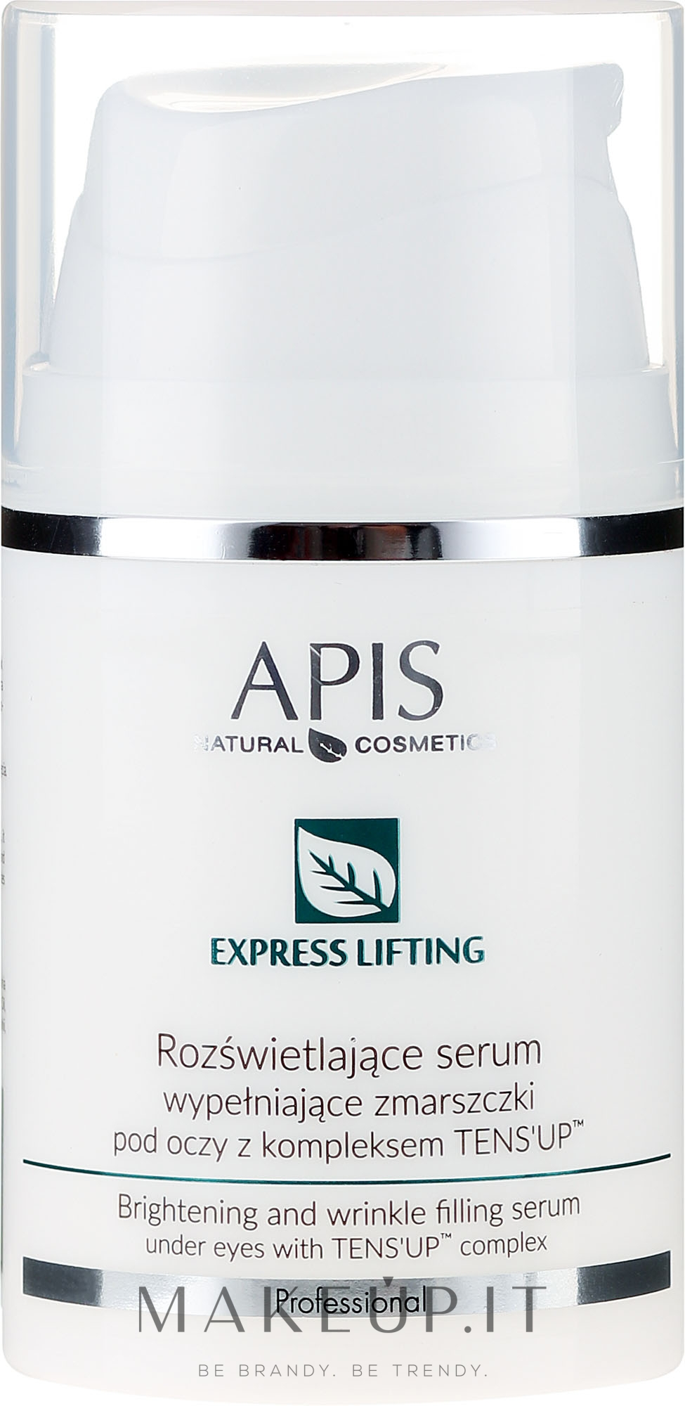 Siero contorno occhi - APIS Professional Express Lifting Brightening Filling Wrinkle Serum With Tens UP — foto 50 ml