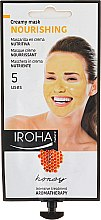Profumi e cosmetici Maschera viso nutriente al miele - Iroha Nature Nourishing Honey Creamy Mask