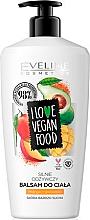 "Balsamo corpo ""Mango e avocado"" - Eveline I Love Vegan Food Body Balm — foto N1"