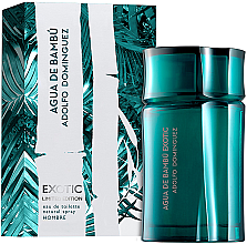 Profumi e cosmetici Adolfo Dominguez Agua De Bambu Exotic For Him - Eau de toilette