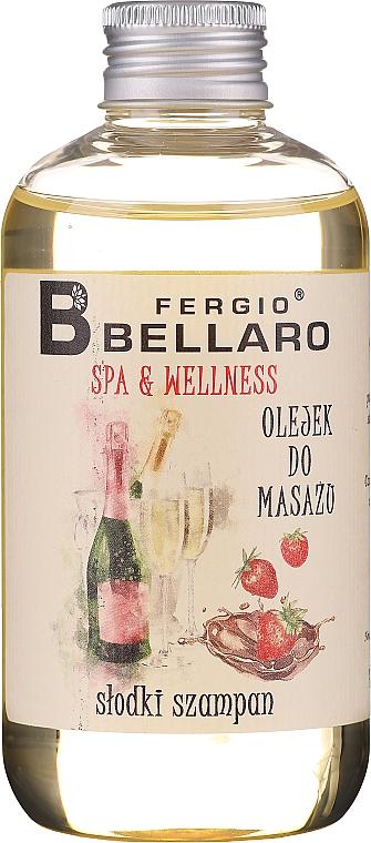 """Olio da massaggio """"Champagne"""" - Fergio Bellaro Massage Oil Sweet Champagne"""