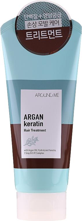 Maschera capelli - Welcos Around Me Argan Keratin Hair Treatment