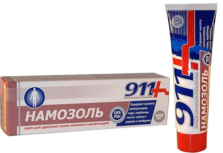 """Crema per la rimozione di calli secchi e duroni """"Namazol"""" - 911"""