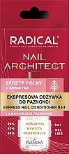 Profumi e cosmetici Condizionante-express per le unghie 8 in 1 - Farmona Radical Nail Architect Express 8in1
