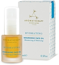 Profumi e cosmetici Olio viso idratante nutriente - Aromatherapy Associates Hydrating Nourishing Face Oil