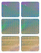 Profumi e cosmetici Adesivi per nail design, 3705 - Neess Patternness
