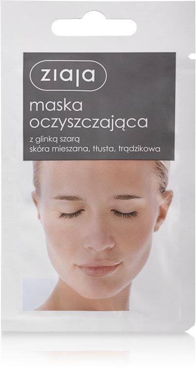 Maschera detergente viso all'argilla grigia - Ziaja Face Mask