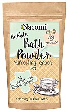 Profumi e cosmetici Polvere da bagno - Nacomi Refreshing Green Tea Bath Powder