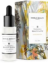 Profumi e cosmetici Siero lenitivo e illuminante - Edible Beauty Turmeric Beauty Latte Serum