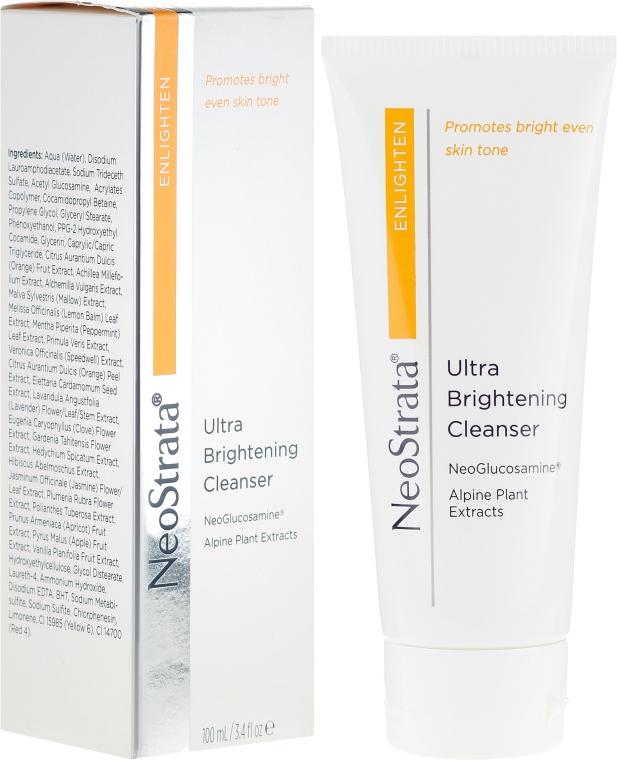 Crema per la delicata pulizia del viso - Neostrata Enlighten Ultra Brightening Cleanser — foto N1