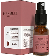 """Profumi e cosmetici Olio-spray collutorio """"Fragola"""" 2.5% - Herbliz CBD Oil Mouth Spray 2,5%"""