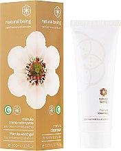 Profumi e cosmetici Gel detergente per la pelle normale e secca - Natural Being Manuka Cleanser