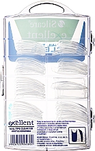 Tips per unghie, d/k - Silcare Tipsy Exellent Clear — foto N2