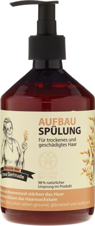 Balsamo rivitalizzante per capelli - Rezepte der Oma Gertrude