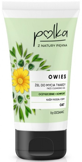 Gel detergente all'avena - Polka Face Cleansing Gel