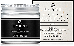 Profumi e cosmetici Crema rassodante per il collo - Avant Skincare Full Neck Tightening and Firming Treatment