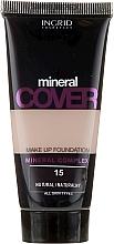 Profumi e cosmetici Fondotinta minerale - Ingrid Cosmetics Mineral Cover Make Up Foundation