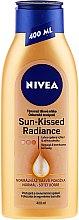 Profumi e cosmetici Lozione abbronzante corpo - Nivea Body Nivea Bronze Effect Dark