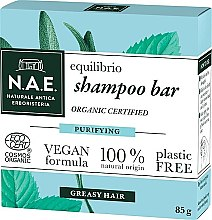 Profumi e cosmetici Shampoo solido per capelli grassi - N.A.E. Equilibrio Purifying Shampoo Bar