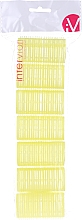 Profumi e cosmetici Bigodini in velcro, 499597, giallo - Inter-Vion